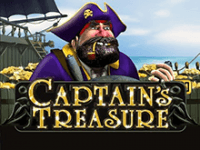 Автомат Captain's Treasure на деньги